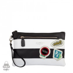 The Patch Clutch Bag by PielFort